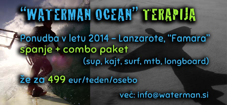 WATERMAN OCEAN TERAPIJA 2014