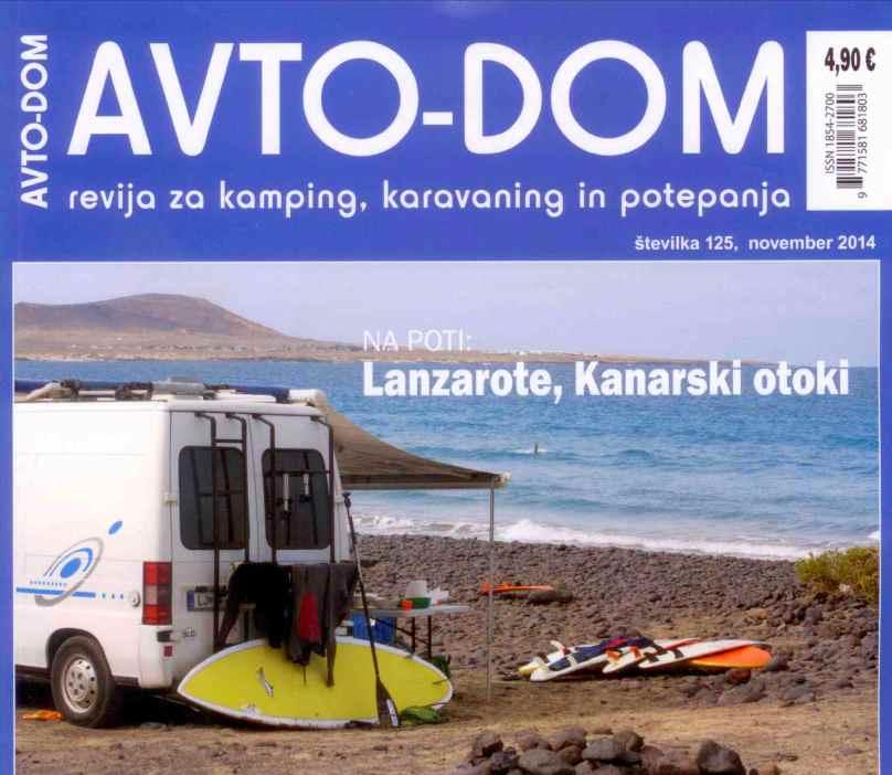 Lanzarote waterman avtodom revija