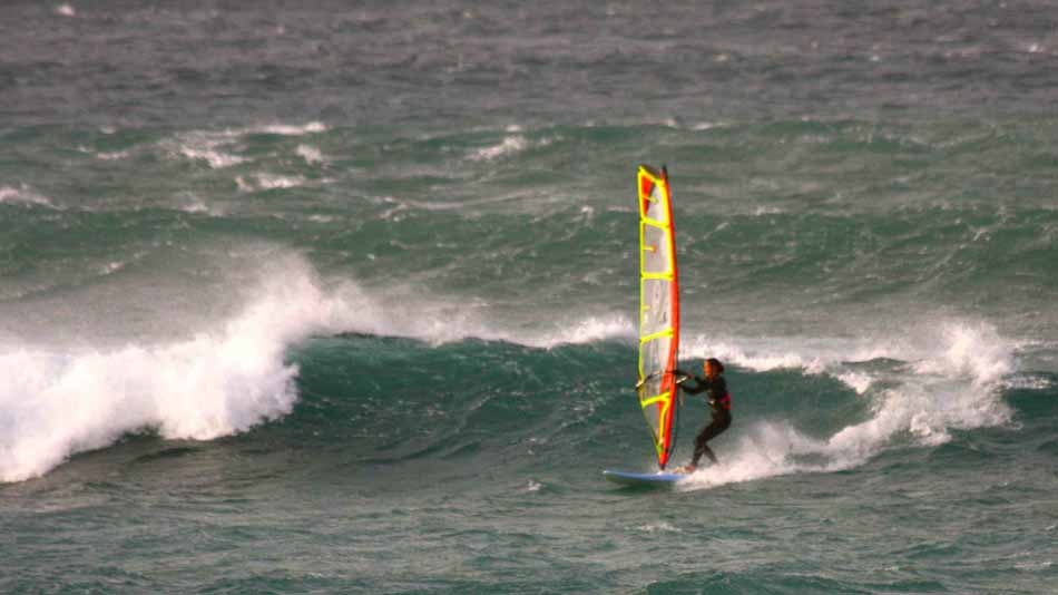 Lanzarote Famara windsurf waterman.si