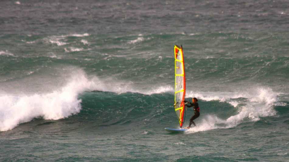 Lanzarote Famara windsurf waterman.si