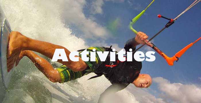 Waterman lanzarote kite surf sup activities
